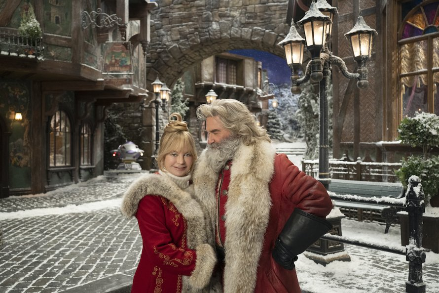 Kurt Russell en Goldie Hawn in The Christmas Chronicles 2