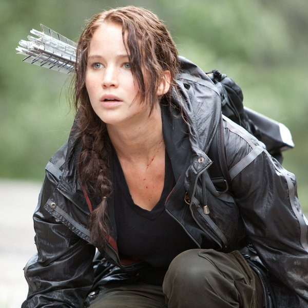 Jennifer Lawrence in The Hunger Games