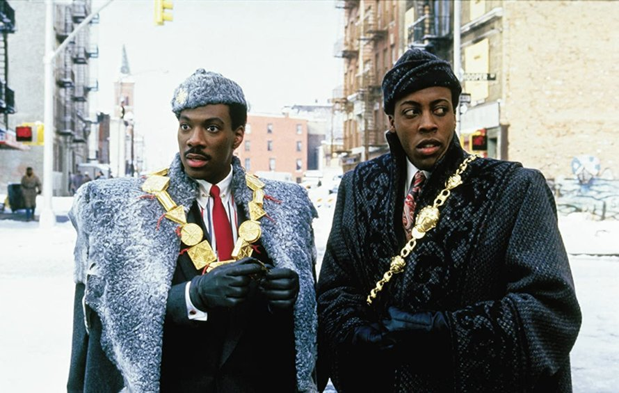 Eddie Murphy in Coming to America