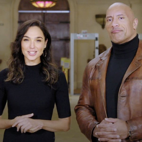 Ryan Reynolds, Gal Gadot en Dwayne Johnson