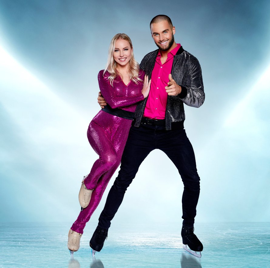 Donny Roelvink in Dancing on Ice