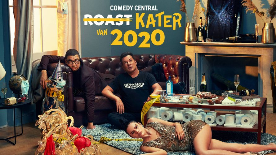 Comedy Central Kater van 2020
