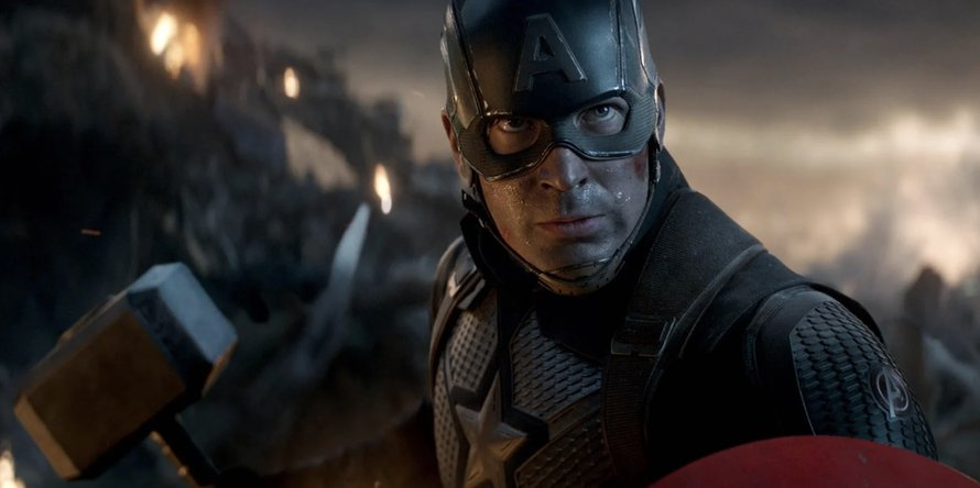Chris Evans als Captain America in Avengers: Endgame