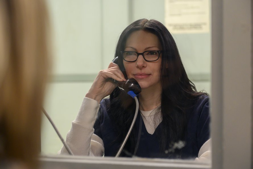 Laura Prepon als Alex Vause in Orange is the New Black op Netflix