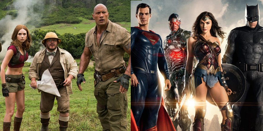 Jumanji: Welcome to the Jungle, Justice League