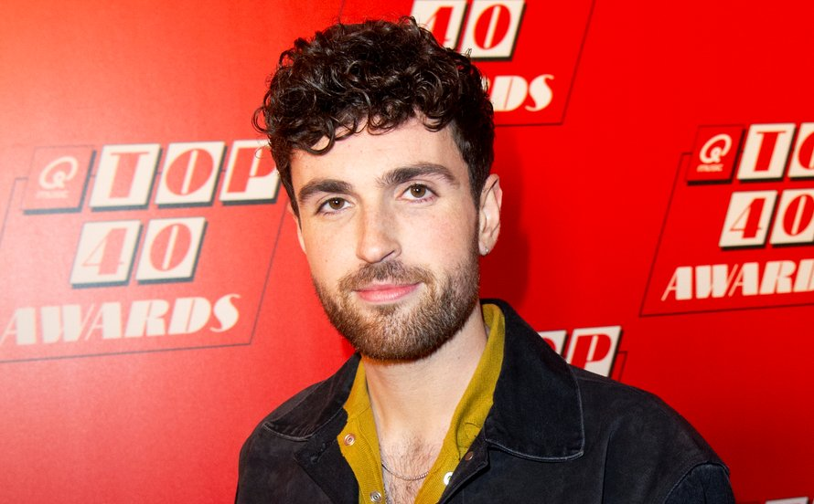 Duncan Laurence bij Top 40 Awards