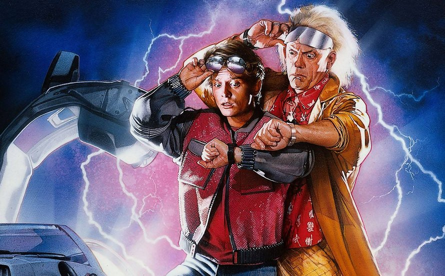 Back to the Future Part II op Netflix