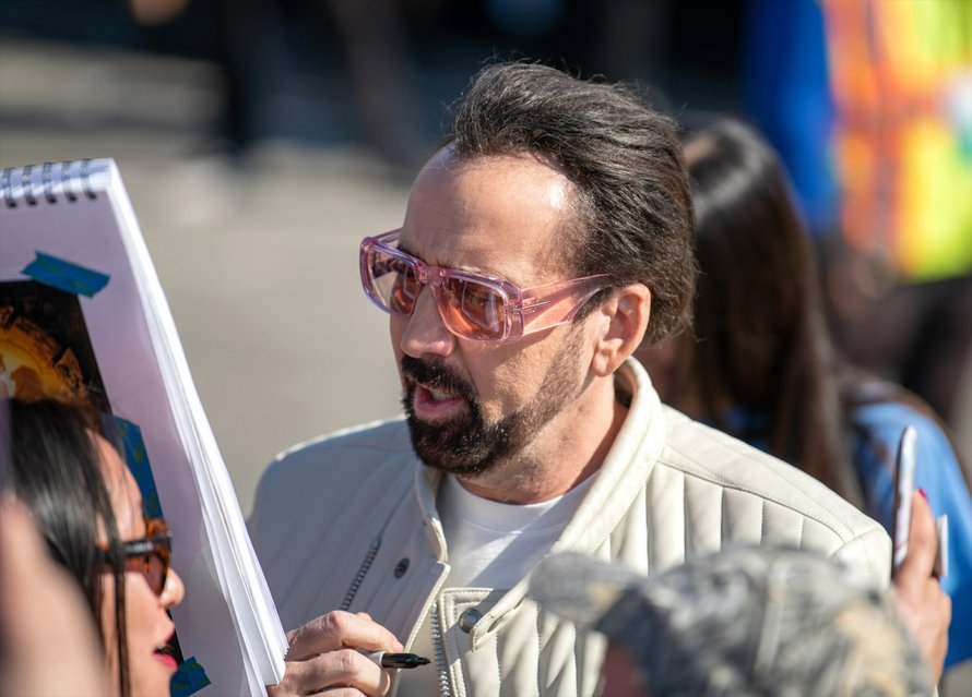 Nicolas Cage op de Independent Spirit Awards