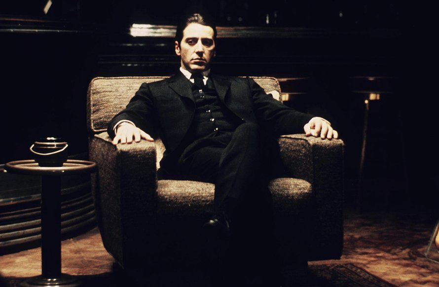 The Godfather Part II Al Pacino Michael Corleone