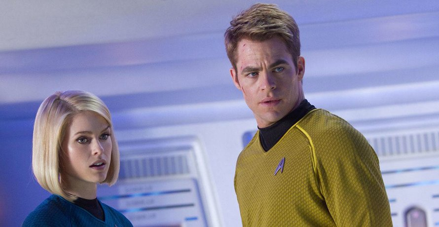 Chris Pine in Star Trek