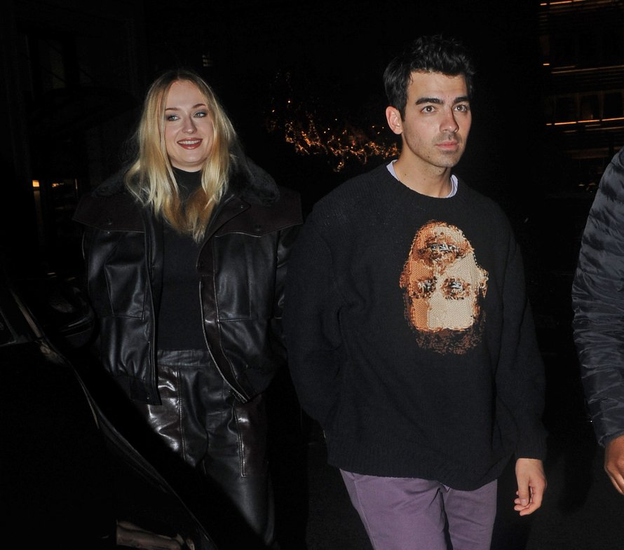 Sophie Turner en Joe Jonas