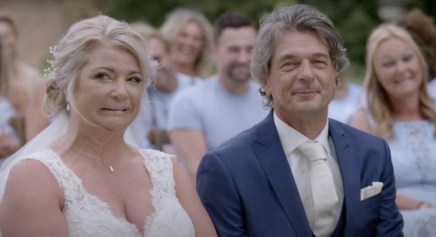 Aron en Monique in Married at First Sight