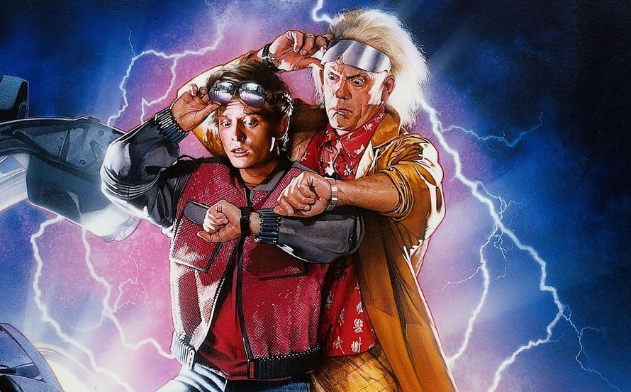 Back to the Future poster 1985