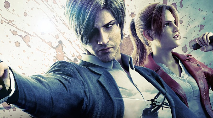 Leon Kennedy en Claire Redfield in Resident Evil Infinite Darkness op Netflix