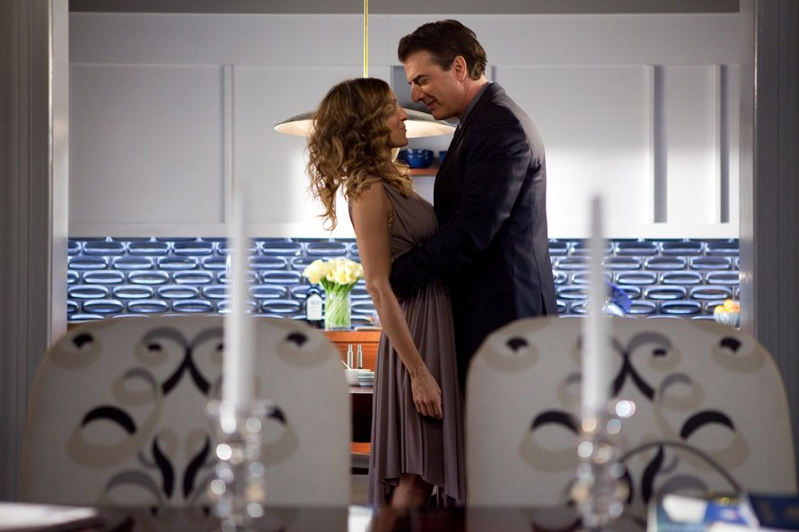 Sarah Jessica Parker en Chris Noth in Sex and The City
