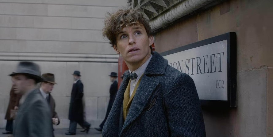 Eddie Redmayne als Newt Scamander in Fantastic Beasts: The Crimes of Grindelwald