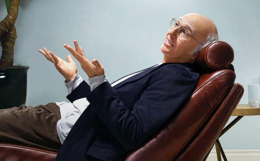 Larry David in Curb Your Enthusiasm op Ziggo Movies & Series XL