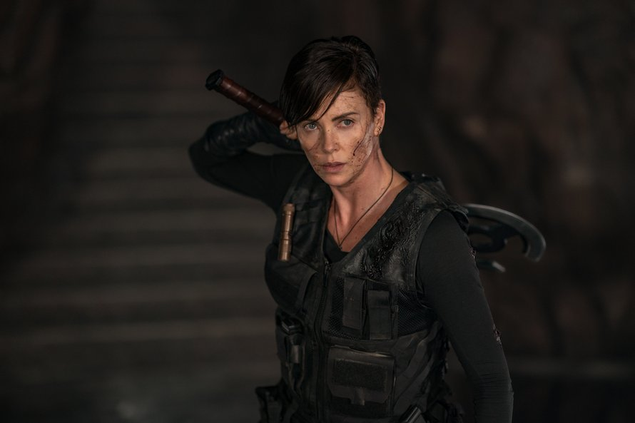 Charlize Theron in The Old Guard
