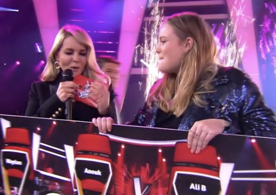 Sophia wint The Voice Of Holland 2020!