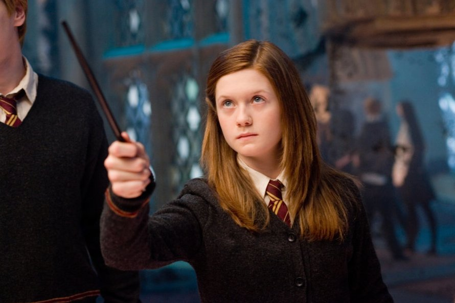 Bonnie Wright als Ginny Weasley in Harry Potter and the Order of the Phoenix