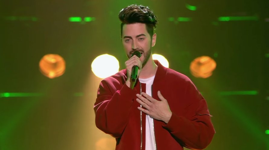 Jordan Roy in The Voice of Holland op RTL 4