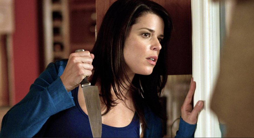 Neve Campbell als Sydney Prescott in Scream 5