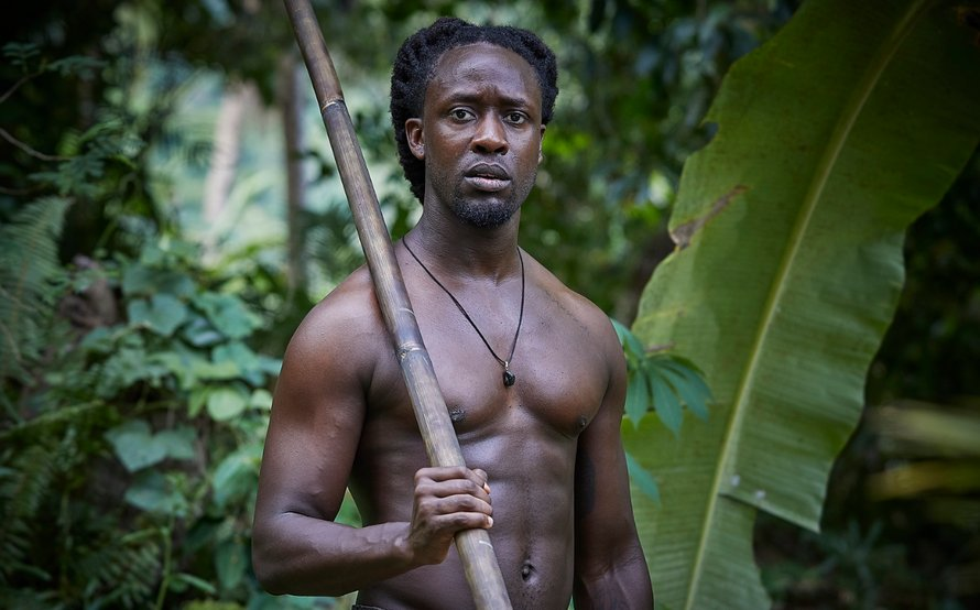Akwasi in Expeditie Robinson