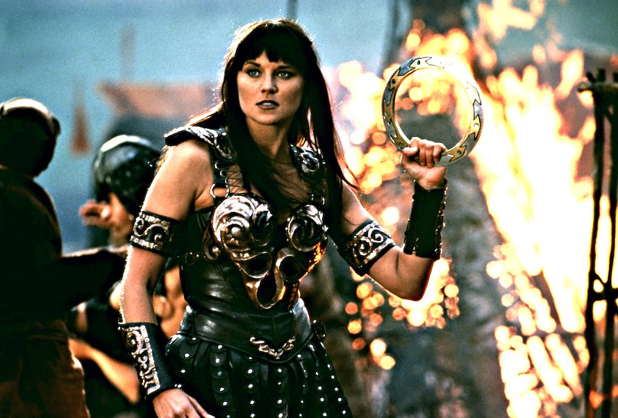 Lucy Lawless in Xena