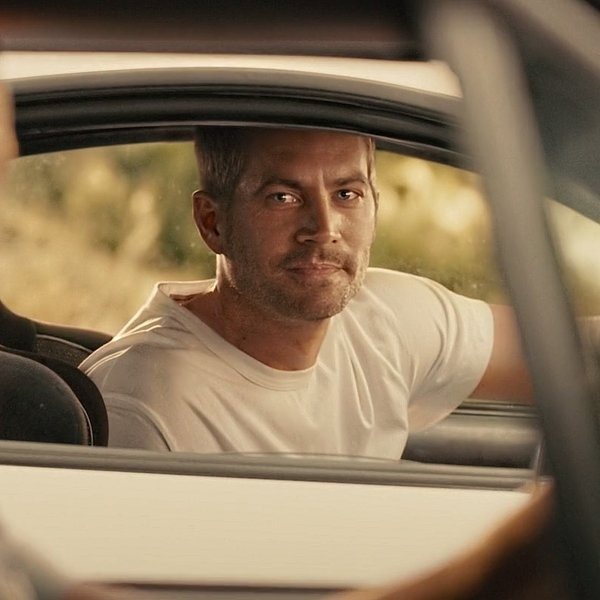 Paul Walker Fast and Furious in auto