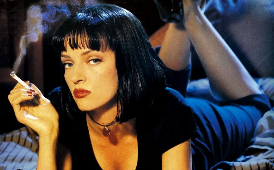 Uma Thurman in Pulp Fiction Poster 1994