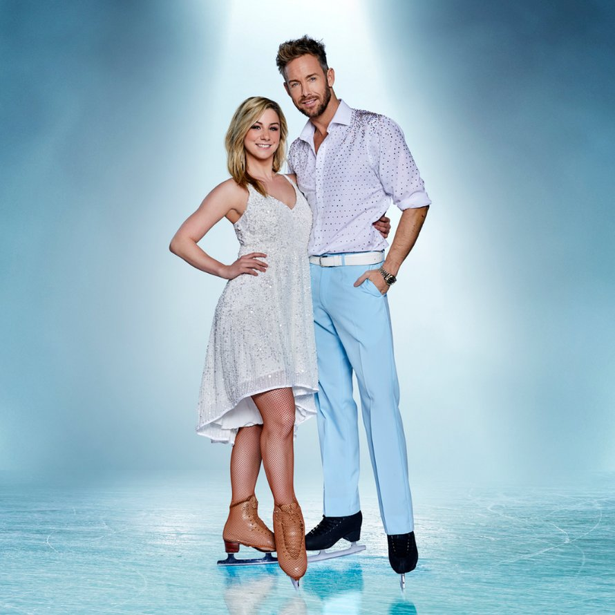 Charly Luske en Shelby in Dancing on Ice