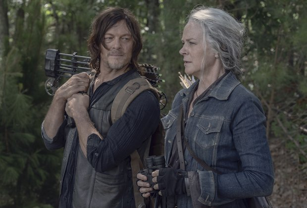 Daryl en Carol in The Walking Dead