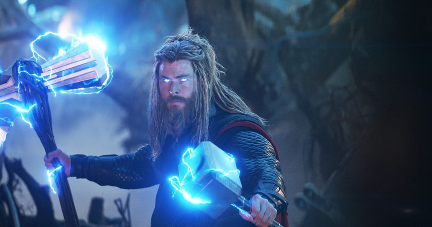 Chris Hemsworth als Thor in Avengers: Endgame