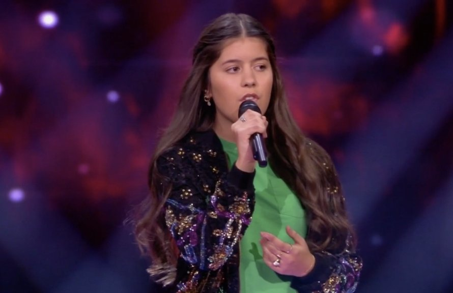 Romy in The Voice Kids
