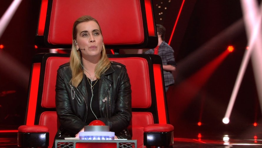 Anouk in The Voice Kids
