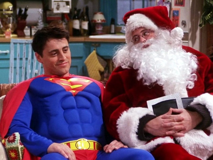 Friends Christmas episode