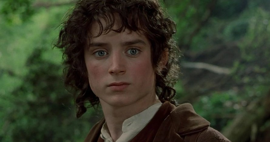 Elijah Wood als Frodo in The Lord of the Rings