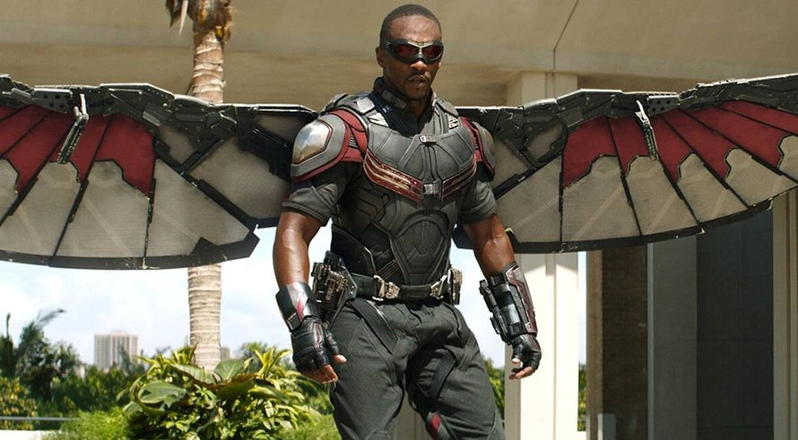Anthony Mackie in The Falcon and the Winter Soldier op Disney Plus