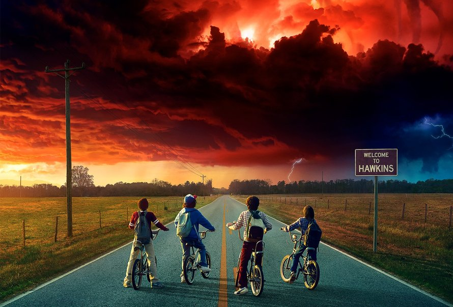 Stranger Things, The Upside Down