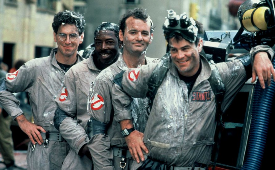Ghostbusters originele cast 1984