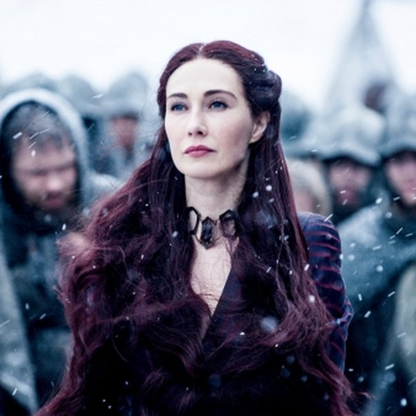 Carice van Houten als Melisandre in Game of Thrones