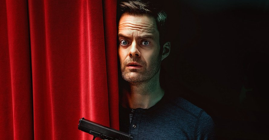 Bill Hader in Barry op HBO