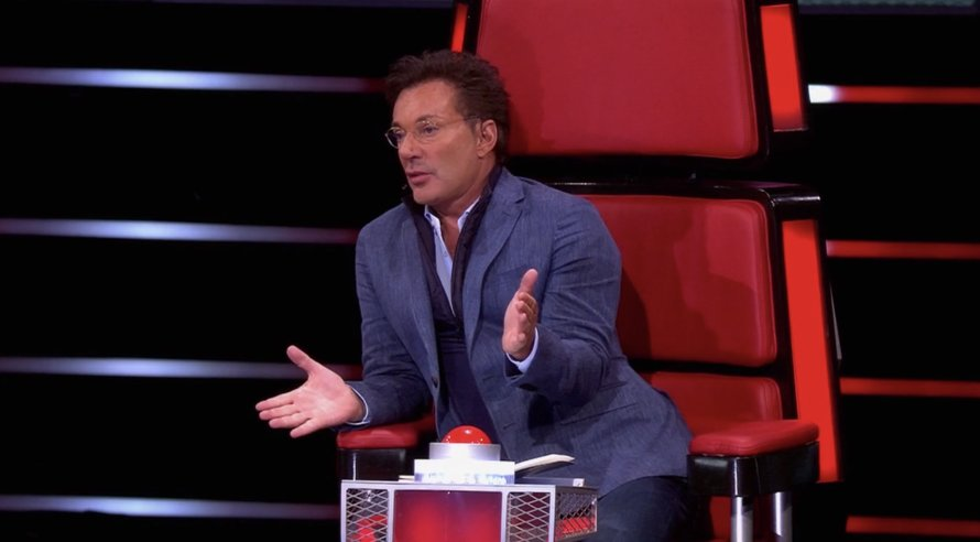 Gerard Joling in The Voice Senior