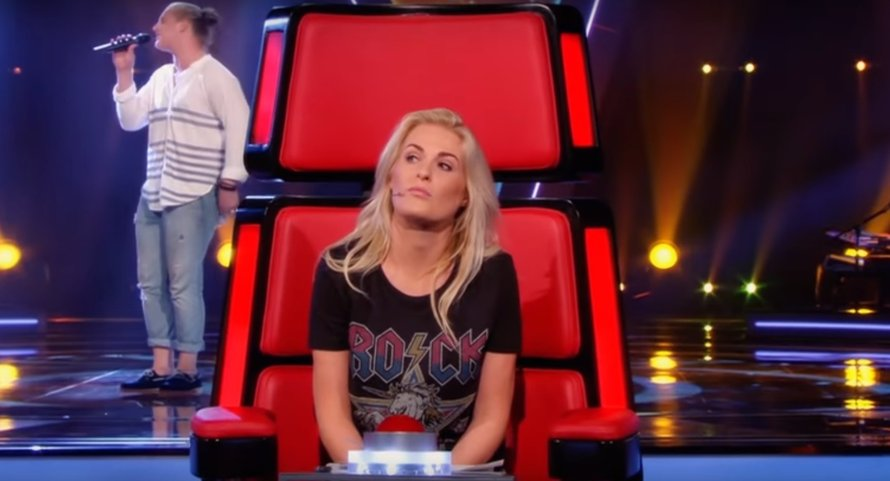 Sanne Hans in The Voice of Holland op RTL 4