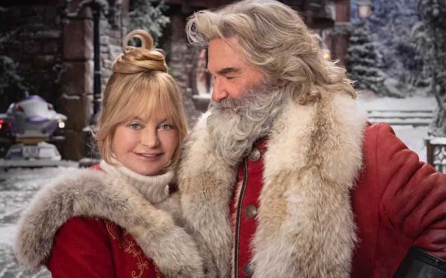 Kurt Russell en Goldie Hawn in The Christmas Chronicles op Netflix 2020