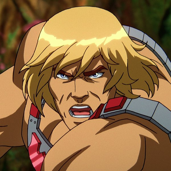 He-Man in Masters of the Universe: Revelation op Netflix