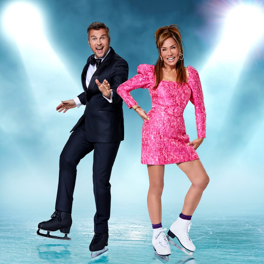 Patty Brard en Winston Gerschtanowitch in Dancing on Ice