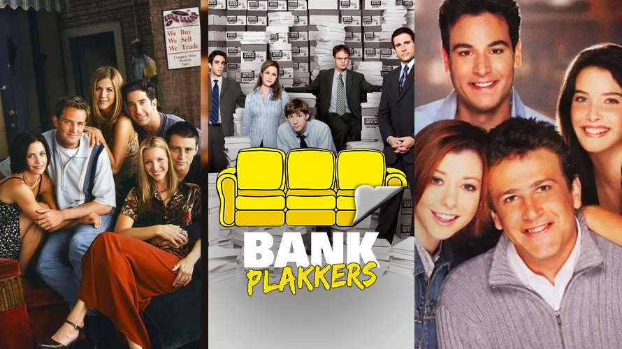 Friends, The Office US, How I Met Your Mother