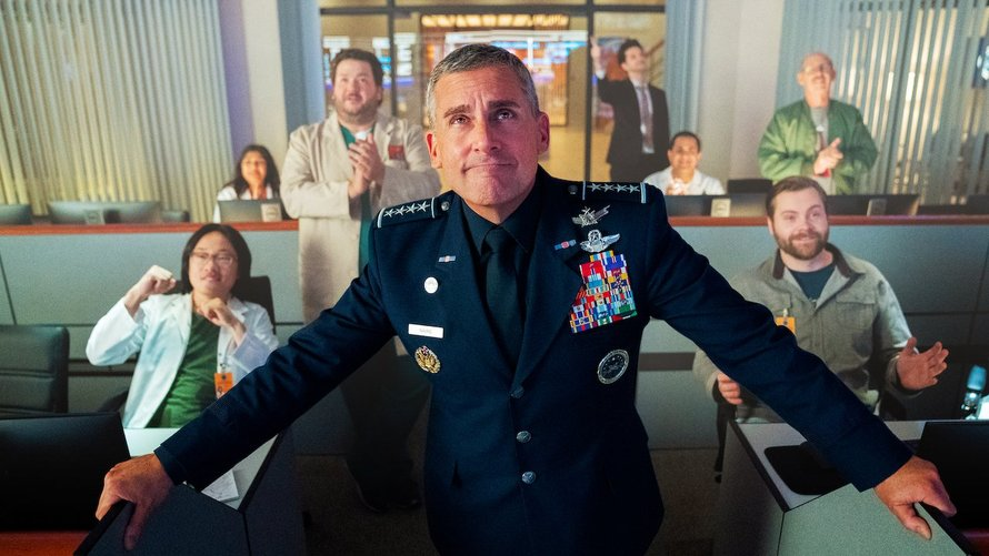 Space Force Steve Carell