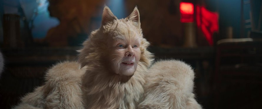 Judi Dench als Old Deuteronomy in Cats